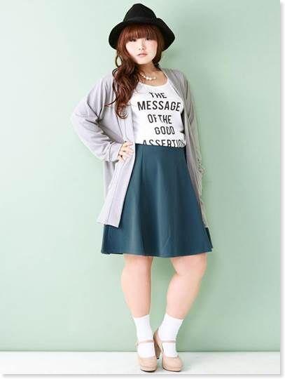 13d4e4ad8034703893a741add4c5149c ぽっちゃり女子に似合うファッションコーディネートまとめ!